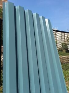 Fencing, wall, Roofing sheets 35 pieces total