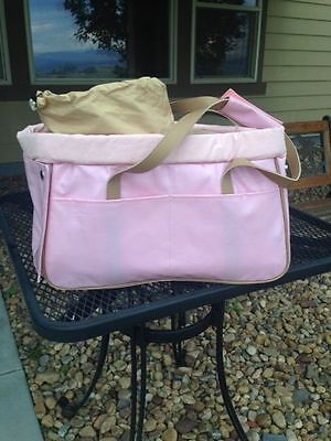 Dog/Cat/Pet/Carrier/Purse/Tote/Bag - Cizl Duffle Carrier - Pink - NEW