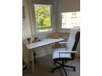 IKEA LISABO Desk (light ash/beech) for sale: For your Work from home office!