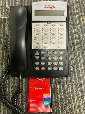 Avaya Partner Acs Euro 18d Series Ii Display Telephone