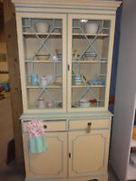 1940s Chalk Painted Shabby Chic Cabinet-Make A Reasonable Offer!