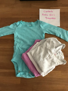 Brand Names - Baby Girl Clothes 6-12 Months