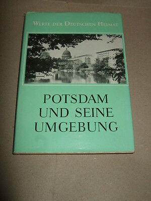 Potsdam und seine Umgebung, Werte der deutschen Heimat,1969, DDR, Reiseführer
