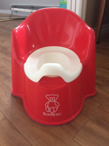 Baby Bjorn Red Potty
