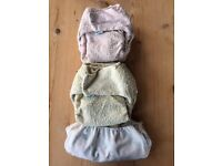 Reusable cloth nappies tot bots bundle