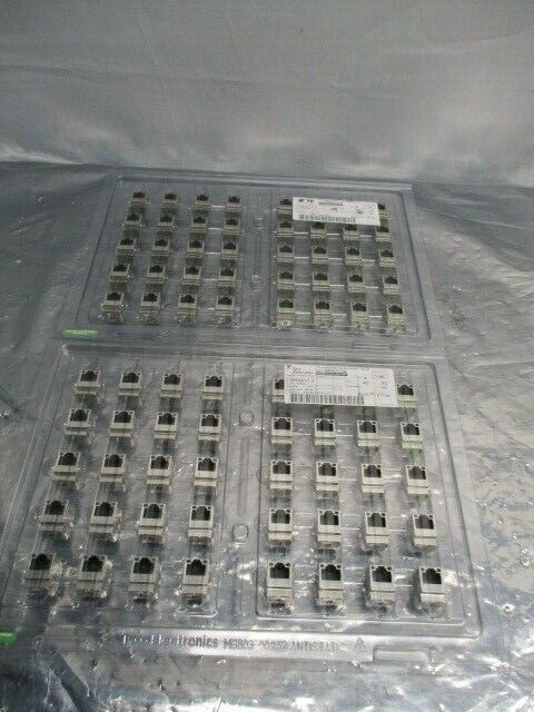 1 Lot of 80 TE Connectivity 1840417-3 1X1 MAG45 Vertical Gig 4G46P1 G/Y, 100911