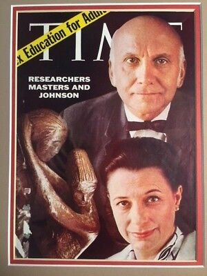 WILLIAM H. MASTERS AND VIRGINIA E. JOHNSON, HUMAN SEXUAL RESEARCHERS HAND