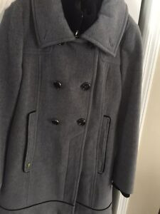 Soia and Kyo Designer Wool Coat Size M