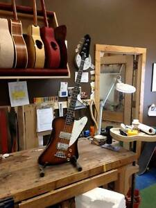 Beardsell Guitars Custom Shop, restoration and repairs