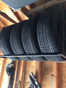 Toyota Highlander winter tires and rims