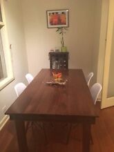Tassie Oak dining table with chairs Mount Waverley Monash Area Preview