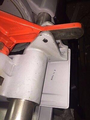 Ridgid 1224 Pipe Threader Carriage Oil Drip Plate Diverter 711 714 Die Head