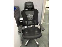 Mesh black office high backed chair