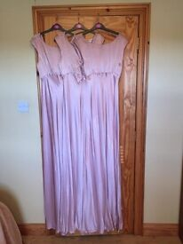 ****BRAND NEW**** Ghost London Salma Bridesmaid Dresses Boudoir Pink x 3