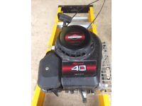 Briggs and Stratton 40cc 4 stroke ex rotavator engine