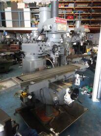 XYZ KRV 3000 SLV TURRET MILLING MACHINE YEAR 2002