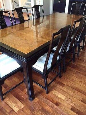 Vintage Century Furniture Chin Hua Dining Room Table & 8 Chairs Raymond Sobota