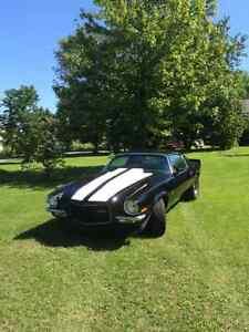 1971 Camaro split bumper Hurst 4 speed