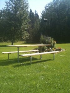 """""""WE'VE GOT YOUR PICNIC TABLE"""""""