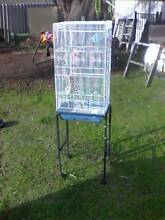 Budgie canary cage with stand Wilson Canning Area Preview