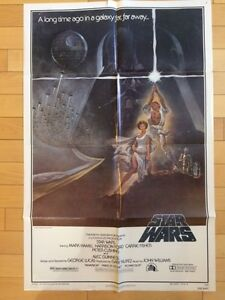 STAR WARS Original Vintage Movie Poster FOR SALE