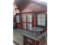 One bedroom Log Cabin to rent Pitsea / Benfleet area