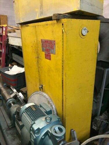 EAGLE CHEMICAL CABINET FLAMMABLE 45 GALLON
