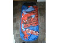 Marvel Spider-Man Junior ReadyBed - Kids Airbed and Sleeping Bag in one.