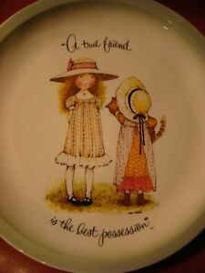 Holly Hobbie Collector Plate