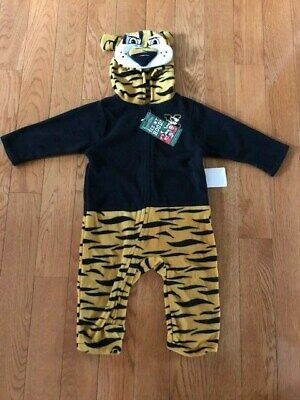 Tiger Pajama Costume (Mascotwear Missouri Tigers Infant-Toddler Costume /Pajamas Size 18 Months)