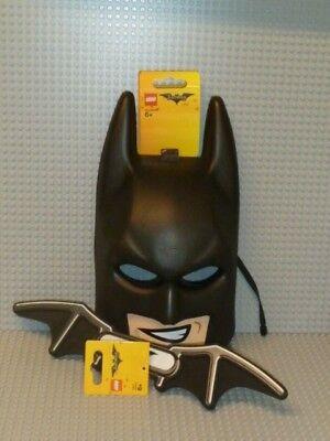 und Batarang Kinder Karneval Schaumstoff Kostüm 853642 853647 (Lego Batman-maske)