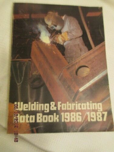 Vintage 1987 Metals Welding Fabricating Engineering Data Technical BOOK Penton