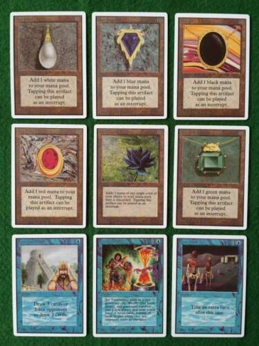 MTG Carte Magic Proxy - P9, Black Lotus, Mox,...