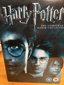 Harry Potter DVD Box Set 8movies unopened