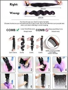 """100% Virgin Human Remy Hair Extensions,20"""",7A,100g,Unprocessed St. John's Newfoundland image 9"""