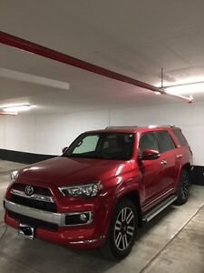 2016 Toyota 4Runner Limited package 7 seater
