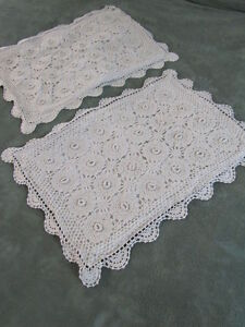 Crocheted Spreads - Buckboard Antique Quilts Home Page