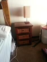 2 x bedside draws with matching lamps Willetton Canning Area Preview