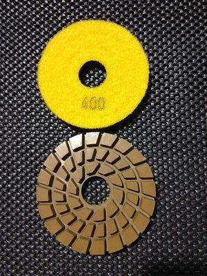 3 4 400 Grit Matador Style Concrete Polishing Resin Diamond