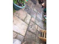 Reclaimed Indian sandstone paving slabs £5 each