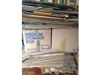 Strong cardboard boxes ideal for house move