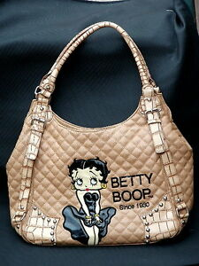 Betty Boop Shoulder Bag Satchel Tote Handbag Purse