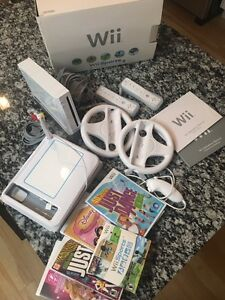 Nintendo Wii includes lots of extra accessories