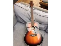 Aria 3/4 sz acoustic guitar, £60 (with case)