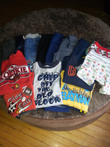 18 piece Boys 2T Lot