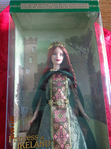 Ireland BARBIE: NIB - Irish Barbie Dolls of the World Collection
