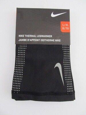0e95dcf33eb44 Nike Thermal Legwarmer Basketball Running Football Black/Grey L/XL New