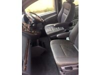 W638 VITO GREY FRONT LEATHER SEATS + CARPET + DOOR CARDS + CENTRE CONSOLE v220 v230 v280