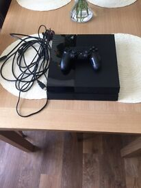 PS4 500GB superb condition with controller and all cables