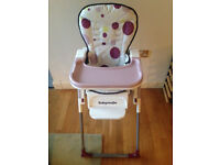 Babymoov high chair in very good condition - £30